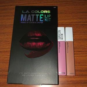 Matte lip bundle